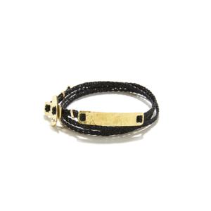 Canoe ribbon bracelet
